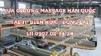 Sửa giường massage Hàn Quốc tại Biên Hòa Đồng Nai