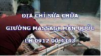 Địa chỉ mua bán và sửa chữa giường massage Hàn Quốc