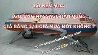 Giường massage Hàn Quốc thanh lý giá bằng 1/4 giá mới