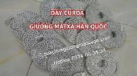 Dây curoa giường mát xa Hàn Quốc bán tran lan trên mạng